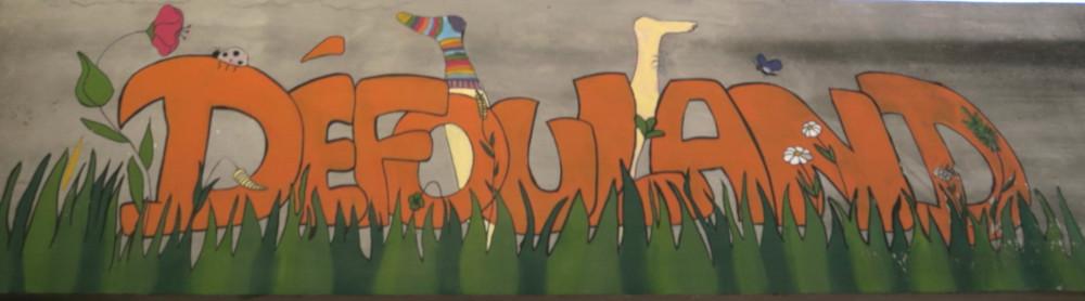 """Panneau du parc dit """"Défouland"""""""