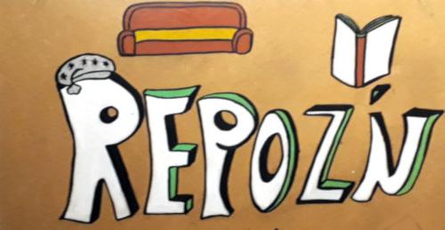 Panneau de la salle Repoz'n